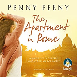 The Apartment in Rome                   By:                                                                                                                                 Penny Feeny                               Narrated by:                                                                                                                                 Jilly Bond                      Length: 10 hrs and 32 mins     1 rating     Overall 4.0