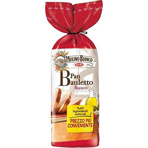 8 x PAN BAULETTO BIANCO CLASSICO MULINO BIANCO PANE A FETTE SALUTE 400 GR SANO