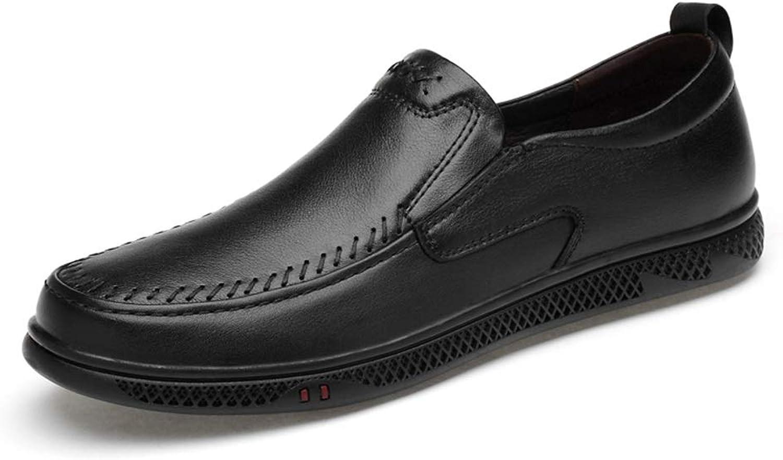 MUWU M än's Classic Classic Classic Oxford skor Casual Loafer Comfortable Perforöd Flat läder Upper Round Toe (färg  svart, Storlek  6 D (M) US)  erbjuder butik
