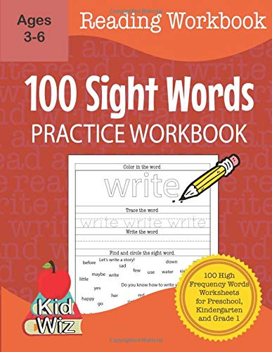 Compare Textbook Prices for 100 Sight Words Practice Workbook: 100 high frequency words worksheets for Preschool, Kindergarten and Grade 1  ISBN 9798640555127 by Miller, Carol