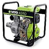 "Vito AGRO Motobomba Diesel 4"" Water Force Potenca 9cv de P"
