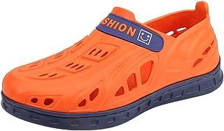 Givekoiu 2019 Sale!! Clogs Mens Boys Garden Beach Kitchen Beach Sandls Flip Flops Shoes Lightweight Hole Shoes Slippers