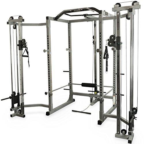 Valor Fitness BD-11 Heavy Duty Power Rack/Squat Rack w/Chrome Pull Up Bar and...