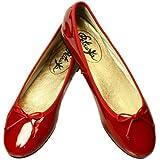 Petruska Ballerinas Shanghai aus Lack in China-Rot - Klassische Ballerina Lackschuhe in China-Rot (37)