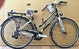 TORPADO Bici per Donna Trekking Bike Ibrida T447 44 Nero TX35 6V Shimano