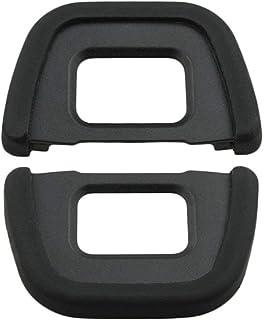 HomyWord (2 piezas) Ocular Visor ocular para Nikon D40 D40x D80 D90 D70S D100 D200 D300 D300S D600 D610 D750 D5000 D5100 D...