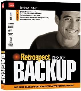 Retrospect Desktop Backup 4.2 Macintosh 1-Client