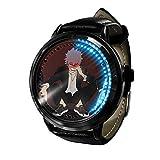 My Hero Academia Reloj con Pantalla táctil Led Resistente al Agua Reloj de Pulsera con luz Digital Unisex Cosplay Regalo Nuevos Relojes de Pulsera niños-A013
