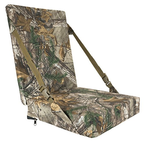 THERM-A-SEAT Self-Supporting Hunting Seat Cushion, Realtree Xtra
