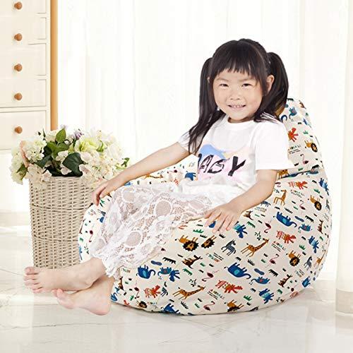 Jybag Single Children es Faulheit Couch kreative High Back Bean Bag Chair abnehmbare und waschbare Schlafzimmer Balkon Liege innen & Außenbereich,G