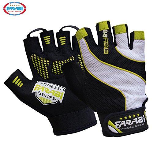 FARABI Easy Grip Weight Lifting Gloves...