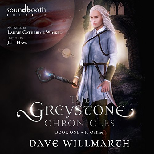The Greystone Chronicles: Book One: Io Online                   By:                                                                                                                                 Dave Willmarth                               Narrated by:                                                                                                                                 Laurie Catherine Winkel,                                                                                        Jeff Hays                      Length: 14 hrs and 43 mins     12 ratings     Overall 4.8