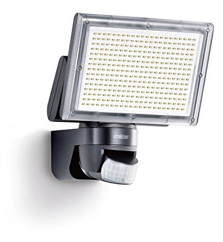 Preisvergleich Produktbild Steinel Sensor LED-Strahler XLED Home 3 schwarz,  EEK A,  LED-Scheinwerfer mit 140° Bewegungsmelder und max. 14 m Reichweite,  1426 Lumen Helligkeit dank 330 LEDs,  582111