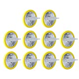 10PCS EEMB CR2032 Li-MnO2 Non-Rechargeable Lithium Battery with Tabs 3V Button Coin Cell Battery Trusted Quality 210mAh UL Certified DO NOT Charge Battery