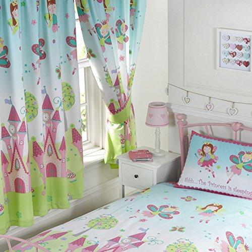 Cortinas con diseño Princess is Sleeping, 183 cm