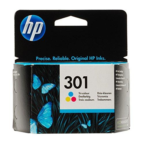 HP DeskJet 2542 - Original HP CH562EE / 301 - Cartouche d'encre Couleur (C,M,Y) -