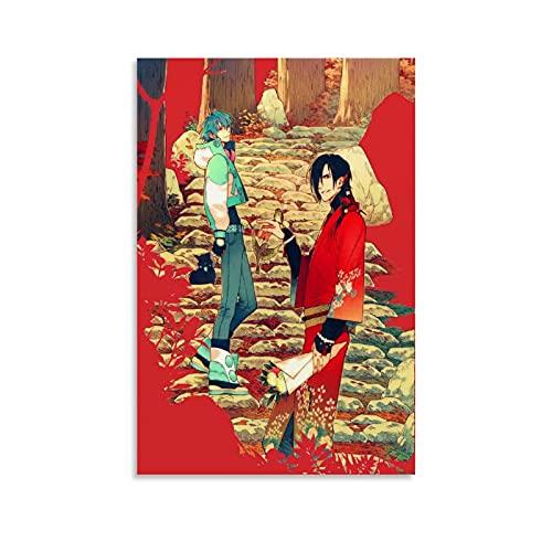 SMJP Dmmd Drama Cd Dramatical Murders Anime Game Bl Canvas Art Poster and Wall Art Picture Impresión Moderna Familiar Dormitorio Decoración Posters 40 x 60 cm