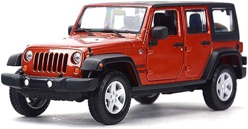 envío gratuito a nivel mundial KaKaDz Wei KKD KKD KKD Escala Modelo Simulación Vehículo Diecast Metal Jeep Jeep Wrangler 2015 Vehículos de Cuatro Puertas Modelo de vehículo de aleación de simulación Modelo de Coche Boy Niños Regalo  venta mundialmente famosa en línea