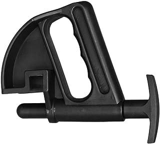 Garneck 1 braçadeira para troca de pneu, ferramenta auxiliar universal prática, grampo central de queda, ferramenta para t...