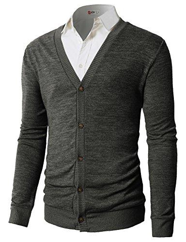 Deep V Sweater Men