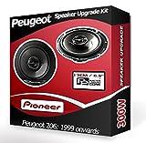 Peugeot Pioneer Haut-parleurs de Voiture portière Avant 206 240W