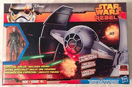 Star Wars Rebels Inquisitors Tie Advanced Prototype Vehicle with Bonus Figure Inquisitor by Hasbro