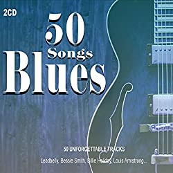 2CD 50 Songs Blues,Blues Music, Louis Armstrong, Billie Holiday, Fast Waller Soul Music