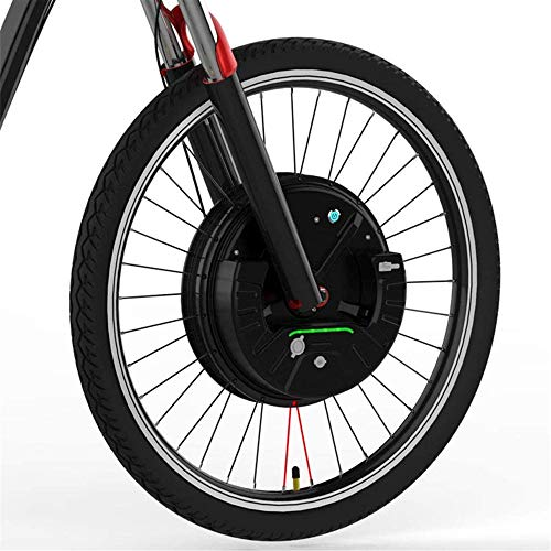 Electric Bikes Conversion Kit EBIKE Conversion Kit Imortor 36V240W All in One Front Wheel Ebike Conversion Kit Brushless Gearless Hub Motor+Rim+Spokes+Tyre Wheel 2020 (Color : Disc APP control, Size :