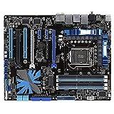 WERTYU Placa base para juegos Asus P7P55D EVO LGA 1156 DDR3 para I5 I7 16 GB USB2.0 P55 Desktop Motherboa