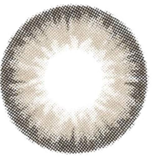 Matlens – EOS Farbige Kontaktlinsen ohne Stärke grau gray belita Big eyes ALMOND 2 Linsen 1 Kontaktlinsenbehälter 1 Pflegemittel 50ml