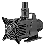 VIVOSUN 5284 GPH Submersible Water Pump 400W Ultra Quiet Pump with 20.3ft Power Cord High Lift for Pond Waterfall Fish Tank Statuary Hydroponic