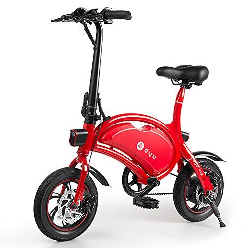 LFANH Plegable Bicicleta Eléctrica, 12