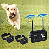 Wireless Electric Dog Fence Pet Containment System, Safe Effective...