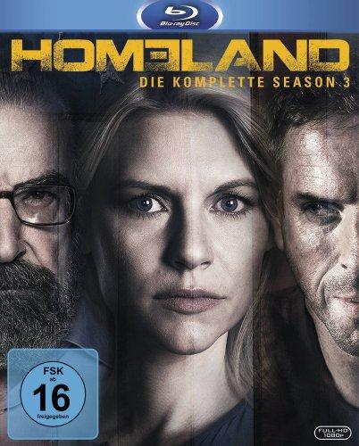 Homeland - Season 3 [Blu-ray]