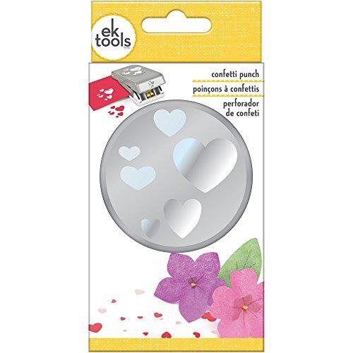 EK Tools PSN L RD Confetti Hearts 54-30281