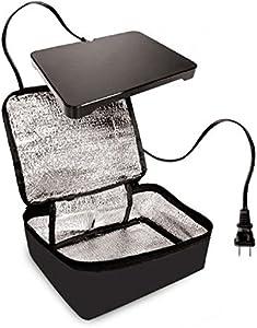 Black Mini Personal Portable Oven - by Julias Boutique