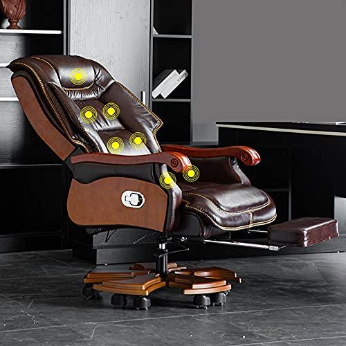 Sillas de Oficina, sillas de Juego ergonómicas, sillones, sillones reclinables de Masaje de Altura Ajustable, adecuados para Salas de Estar, dormitorios y oficinas. / A/como se Muestra