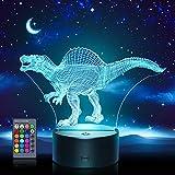 Hotifts Dinosaurios Juguetes Niños 2 3 4 5 6 7 8 9 10 Años,Dinosaurios Jurassic World Niño 2-10 Años Juguetes para Niños de 2-10 Años Regalo Niña 2-10 Años Regalos Cumpleaños Niños Halloween