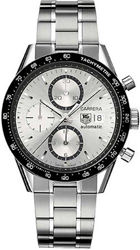 TAG Heuer Men's CV2011.BA0786 Carrera Automatic Chronograph Watch