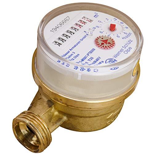 Contador de agua fría Protección, entrada de flujo nominal