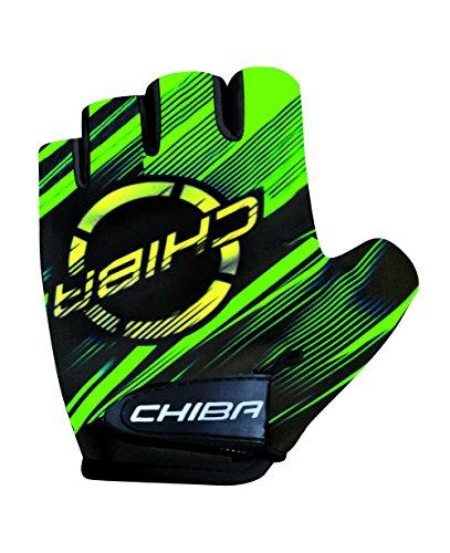 Chiba Kinder Polyamide Handschuhe, apfelgrün, M