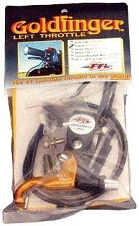 GoldFinger Throttle Goldfinger Left Hand Throttle Kit 007-1021G by Full Throttle