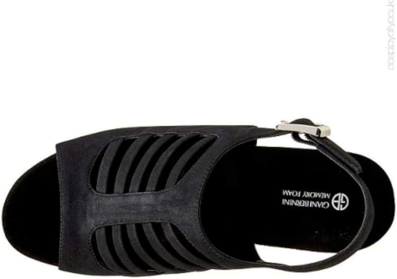 Giani Bernini Womens Caliegh Open Toe Casual Slingback Sandals