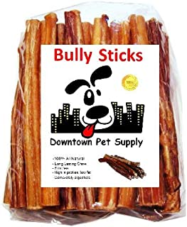 Downtown Pet Supply 6 inch Bully Sticks, Standard Regular...