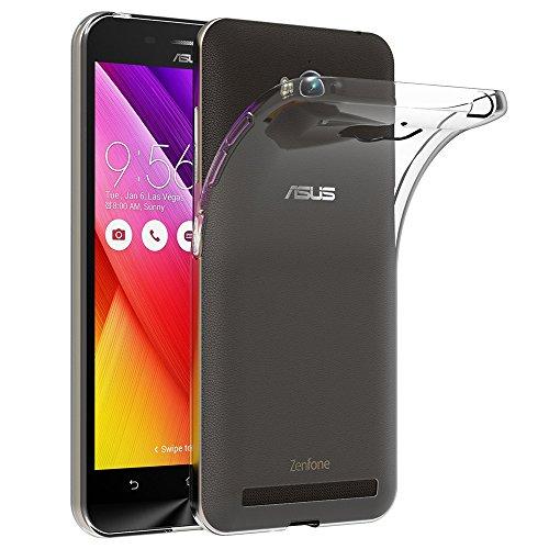 AICEK Funda ASUS ZenFone MAX ZC550KL, ASUS ZenFone MAX Funda Transparente Gel...