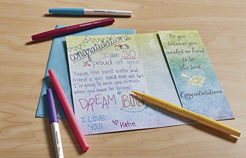 Papermate Flair Porous Point Stick Free-Flowing Liquid Pens, Blue Ink, Ultra Fine Point, Dozen, DZ - PAP8310152 Photo #10