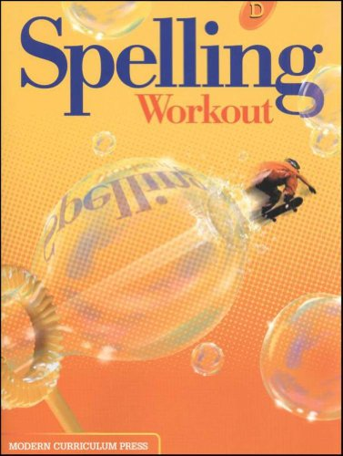 SPELLING WORKOUT HOMESCHOOL BUNDLE LEVEL D COPYRIGHT 2002