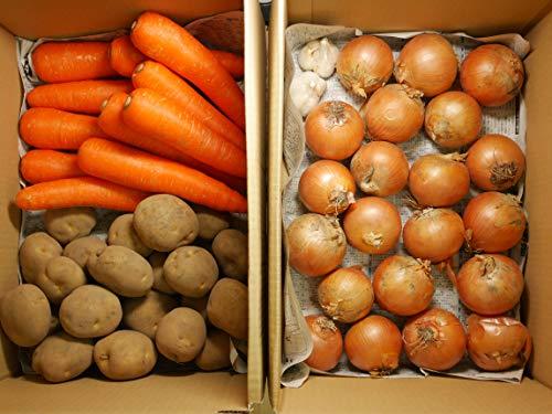 野菜セット10㎏ 国産 常備野菜 にんじん3㎏+玉ねぎ4㎏+じゃがいも3㎏+にんにく2玉