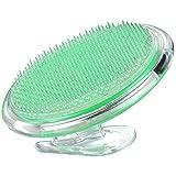 Peeling Body Bürste Massagebürste für die Behandlung Verhütung Rasierer Beulen Eingewachsenen Haare, Flexible Borstenbürste zu Beseitigen Rasur Irritation für Gesicht, Achselhöhle, Beine,Bikini Linie
