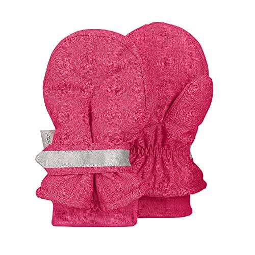 Sterntaler Baby-Mädchen Fäustel Handschuhe, Magenta, 2